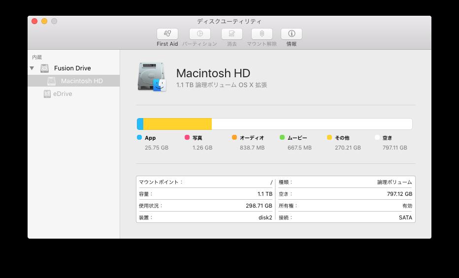Mac で ISO ディスクイメージを作成する方法 – act2 サポート